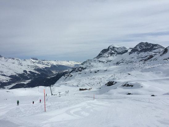Corvatsch - Sils - Silvaplana - Neve eccellente anche dopo le 12:00!! - © Edo