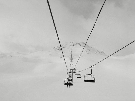 Val d'Isère - Some fresh powder this morning  - ©Scubadani