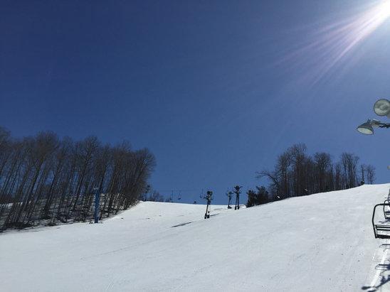 Nubs Nob Ski Area - Perfect spring day at Nubs. 3/29/16 - © iPhone