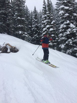Big Sky Resort - New snow, great conditions, soft landings! - © iPhone