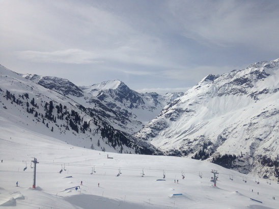 St. Anton am Arlberg - [! skireport_firsthandpost_pagetitle ] - © Juli iPhone5
