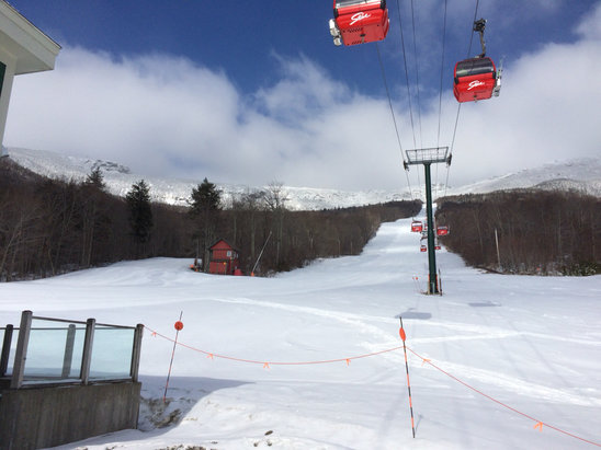Stowe Mountain Resort - [! skireport_firsthandpost_pagetitle ] - © seanpuckphone