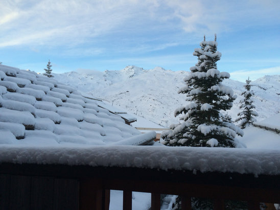 Les Menuires - Epic conditions all over the 3 valleys today due to yesterday fresh snow fall..