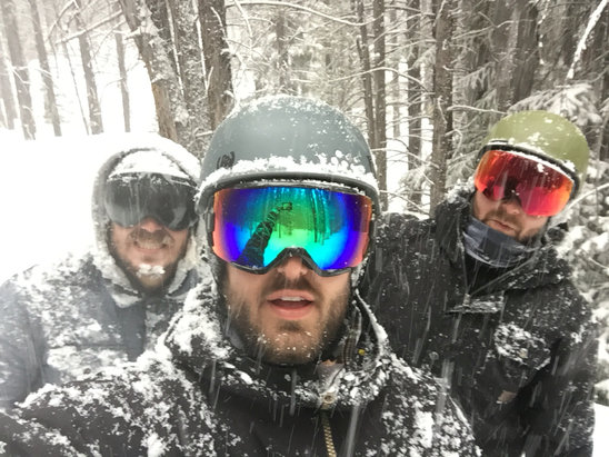 Breckenridge - 6-7 while riding yesterday afternoon. Dumped all night after that. Too bad its our last day! - ©Breck Week