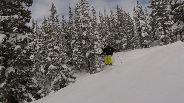 Loveland - Sunday was the best day of skiing all year.   - © Boss