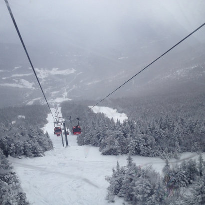 Stowe Mountain Resort - [! skireport_firsthandpost_pagetitle ] - © iPhone
