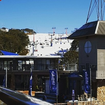 Mt. Buller - Opening weekend is always fun, shame about the rain early last week. Hoping to get some boarding in tomorrow. - © Ryan