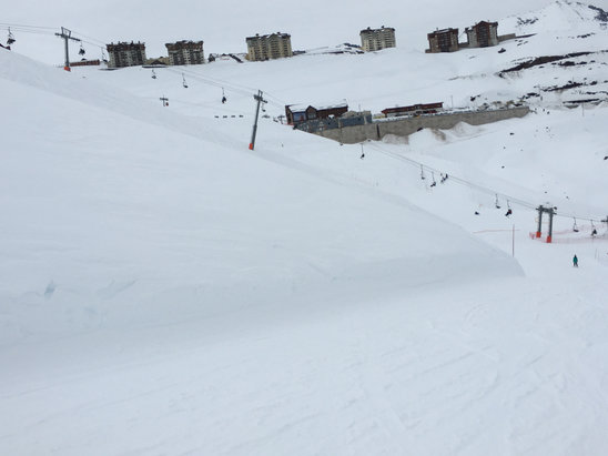 Valle Nevado - Less powder than previous days but still good conditions. - © Pablo's iPhone