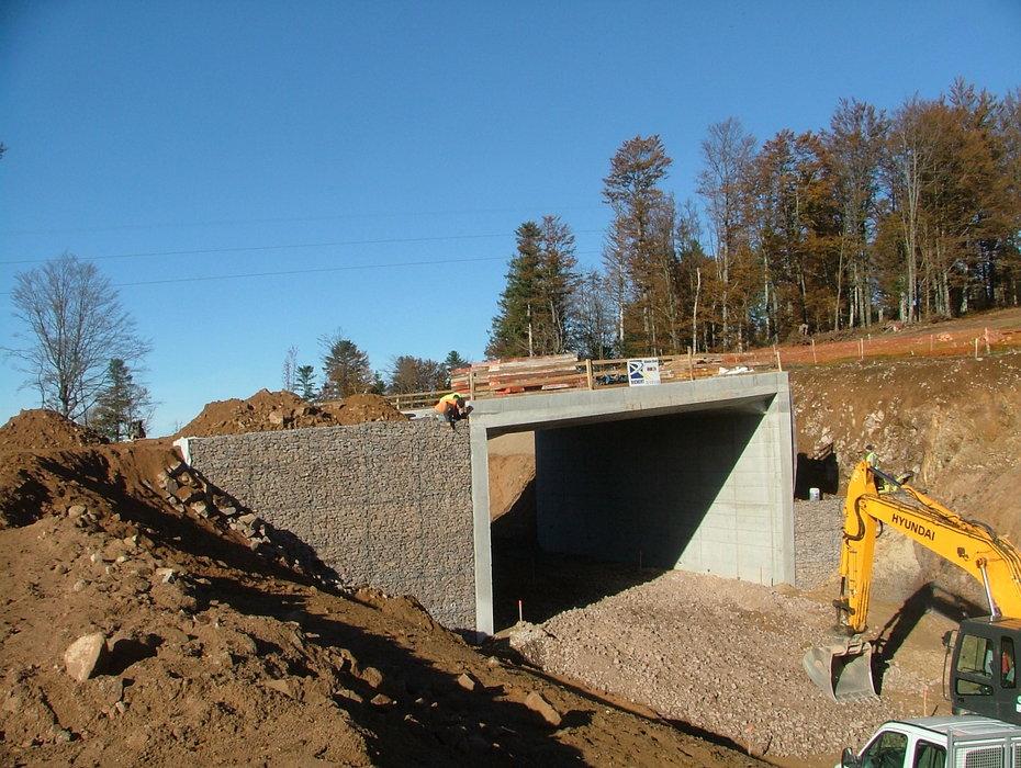 Construction at Ballon d'Alsace .