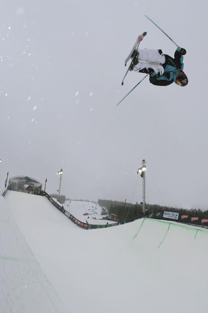 Simon Dumont at Snowbasin UT Dew Tour