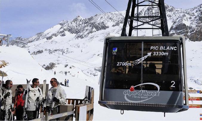 (ete) - Alpe d'Huez - Téléphérique