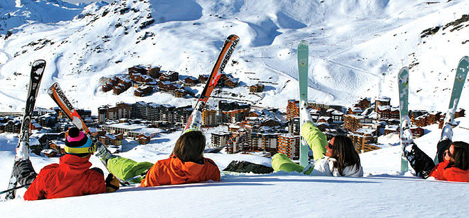 Ski de printemps à Val Thorens - © B. Longo / OT Val Thorens