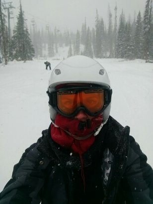 Wolf Creek Ski Area - powder day on sunday - © downtoearthscorpiomom