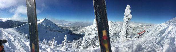 Grand Targhee Resort - Super good skiing. A little rocky in places though.  - © garrett's iPhone