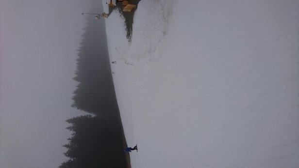 Winterberg Skiliftkarussell - Wenig Schnee. Noch befahrbar.  - © torolv.prokosch
