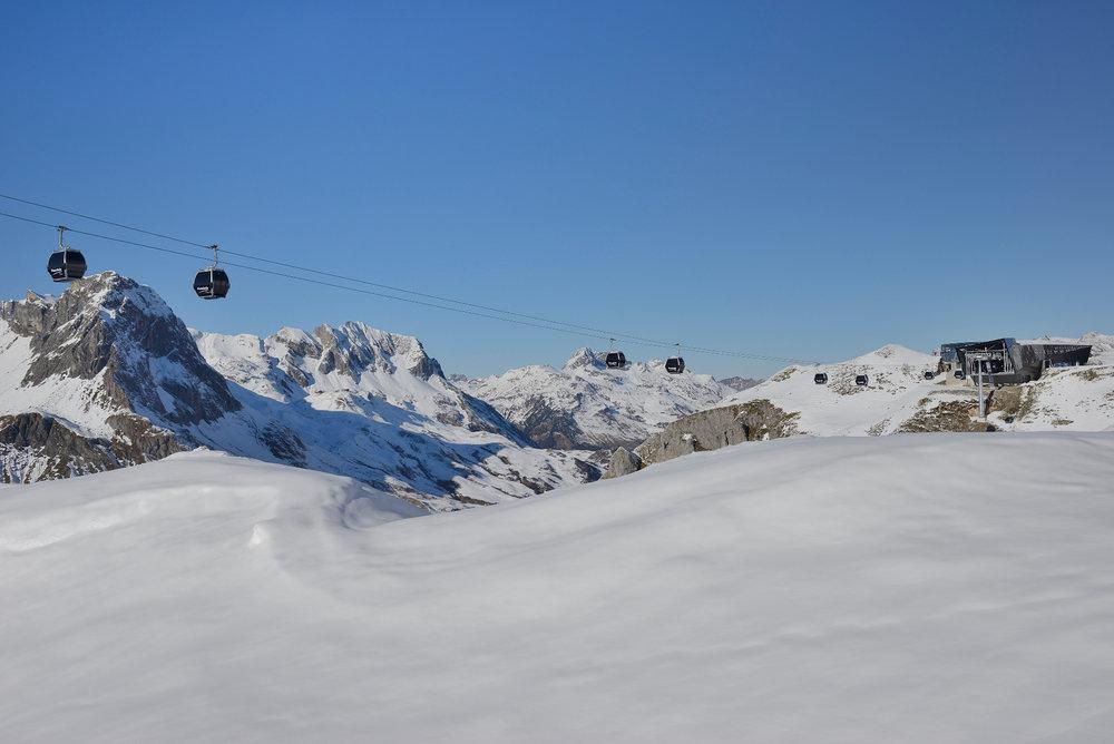 Die neue Flexenbahn - © Ski Arlberg