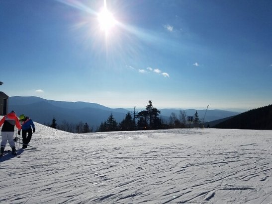 Waterville Valley - Great day today.... no lift lines, well groomed.  FANTASTIC!!! - © anonymous