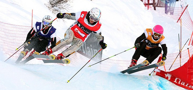 Skicross AHuez