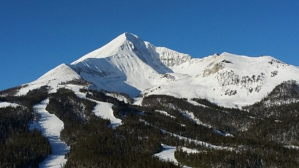 Big Sky Resort - Amazing bluebird day at Big Sky.  Skied Liberty off the tram. - © anonymous