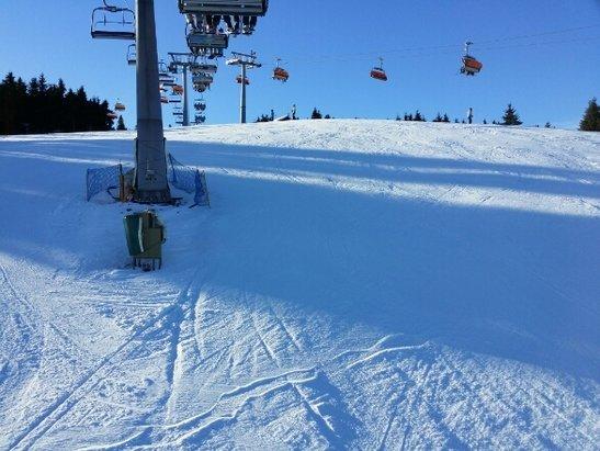 Zieleniec Ski Arena - Dziś warunki idealne.  - © jerzyjaronski