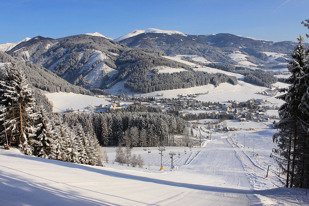 Die Pisten des Skigebiets Gaaler Lifte - © Gaaler Lifte