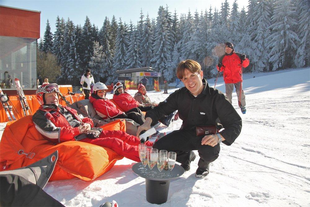 Service und Entspannung im Skigebiet Jauerling - © Josef Salomon - wachaufoto.at