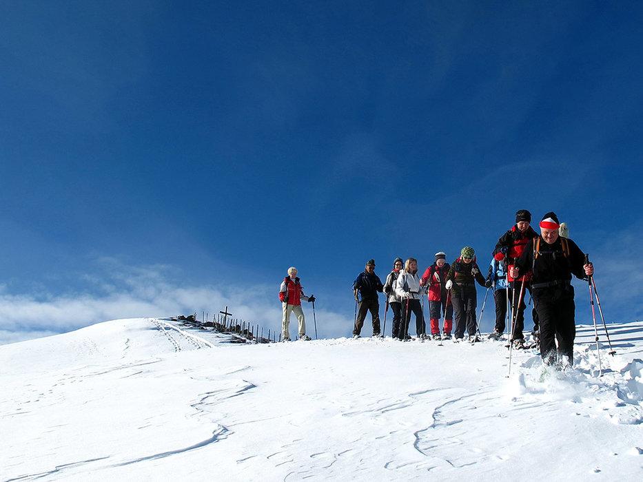Schneeschuhwandern im Skigebiet Klippitztörl - © www.klippitz.at