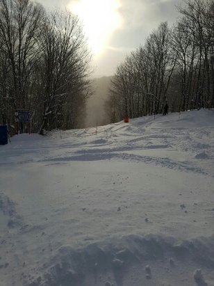 Tremblant - beast POW day at tremblant! - © anonymous