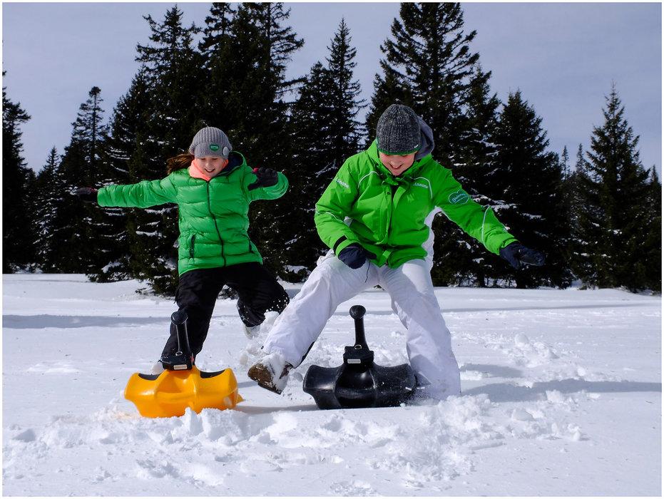 Kinderspaß im Skigebiet Salzstiegl - ©  Salzstiegl Tourismus GmbH