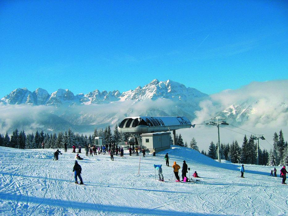 Die Bergstation im Skigebiet Serlesbahnen Mieders - © Serlesbahnen