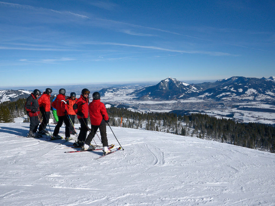 Wunderbare Landschaft des Skigebiets Hörnerbahn Bolsterlang - © Hörnerbahn Bolsterlang