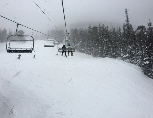 Eldora Mountain Resort - Sunday was awesome! - ©Katie's iPhone