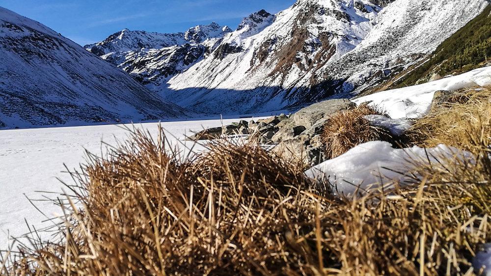 Rifflsee bekam etwas Schnee ab - © Pitztaler Gletscherbahn GmbH&CoKG