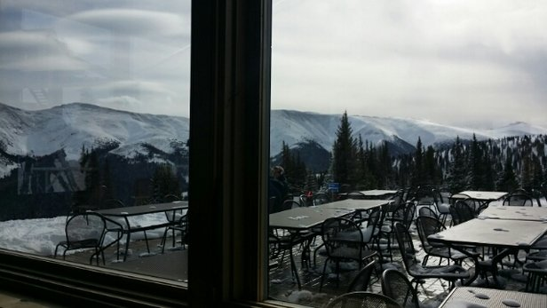 Winter Park Resort - I'm starting to think on the snow is biased  Winter Park the report says 0 today..... but I can tell you that's100% wrong.  - © ryan.bame