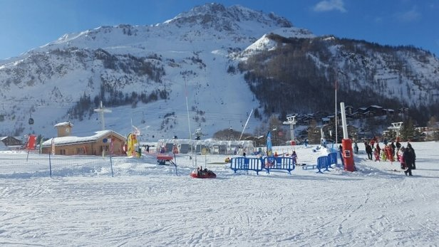 Val d'Isère - fantastic view from the Resort Town  - © anonymous