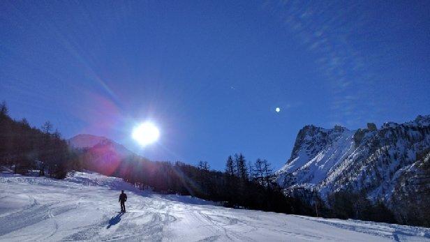 Bardonecchia - ottima neve e ottime piste - © volo