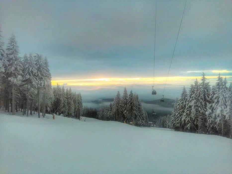 Černá hora 16.1.2017 - © SkiResort ČERNÁ HORA - PEC facebook
