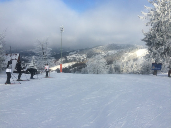 Snowparadise Veľká Rača Oščadnica - Perfecto!:) - © iPhone (Krzysiek)