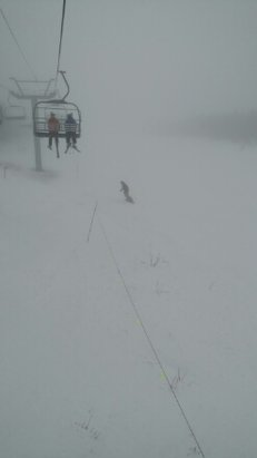 Cannon Mountain - foggy - © anonymous