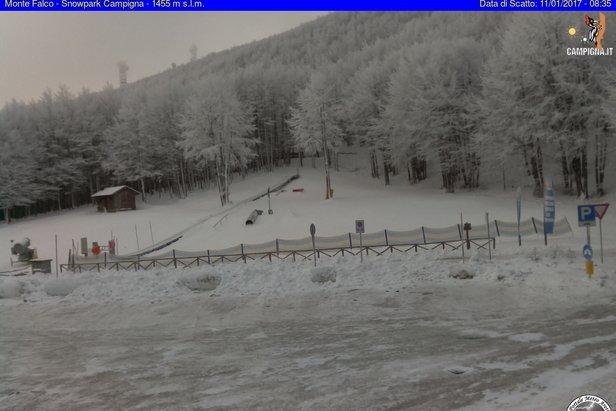 Campigna Monte Falco 11.01.17 - © Campigna Monte Falco webcam