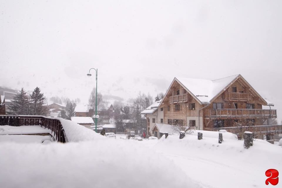 Les 2 Alpes 13.1.17 - © Les 2 Alpes/Facebook