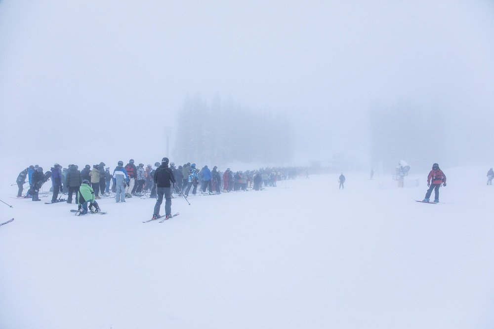 Is this the singles line? - © Mt. Rose