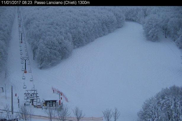 Passo Lanciano 11.01.17 - © webcam