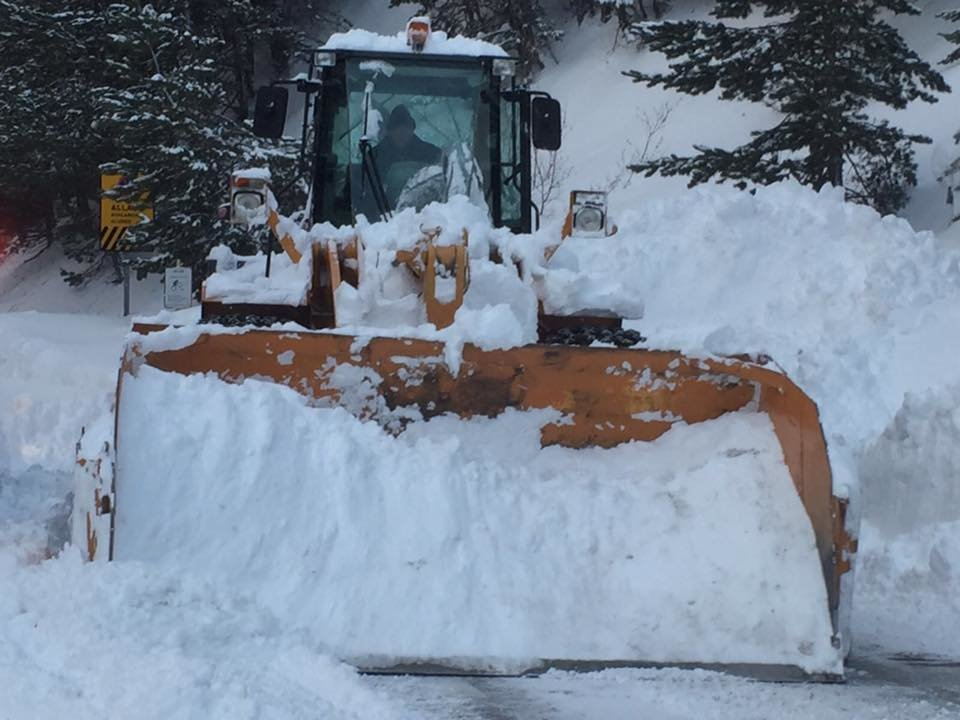 Powder piling up in Vallnord, Andorra 17.1.17 - © Vallnord/Facebook