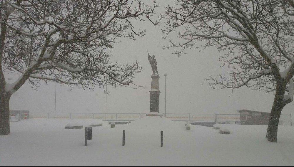 Neve fresca in Sardegna! Città: Fonni - © Sardegna Live Facebook - Foto di Pietrina Guria