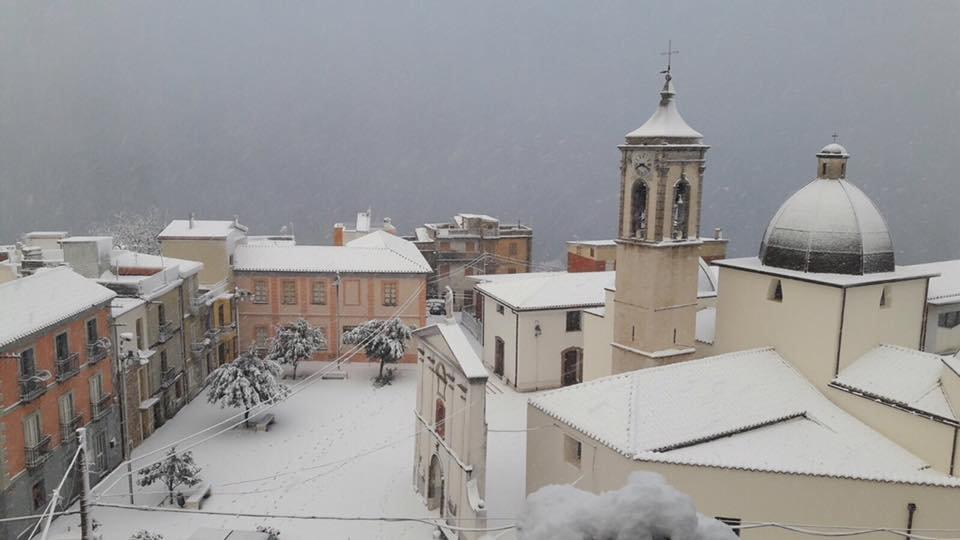 Neve fresca in Sardegna! Città: Baunei - © Sardegna Live Facebook