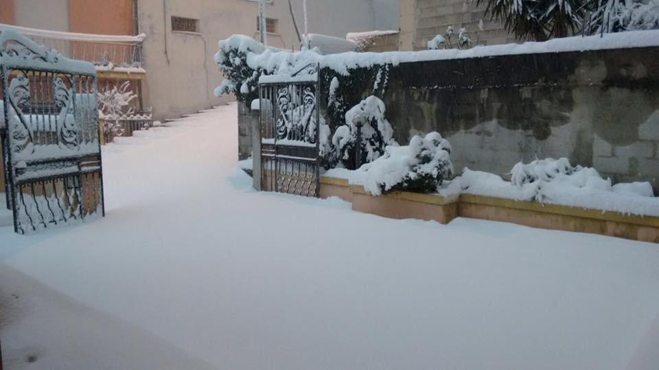 Neve fresca in Sardegna! Città: Dorgali - © Sardegna Live Facebook