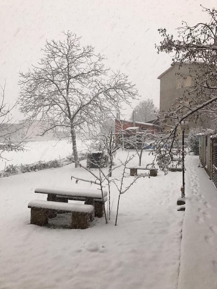 Neve fresca in Sardegna! Città: Sorgono - © Sardegna Live Facebook - Foto di Alessandro Enna