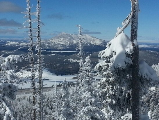 Arizona Snowbowl - lots of freshies this week, bring it on old man winter! - © monetmoran403