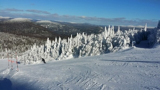 Tremblant - Great conditions all over the mountain. - © David Schirmer